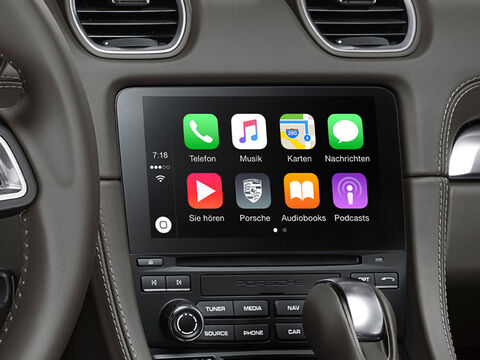 718 Cayman Apple CarPlay